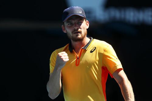 Гоффен и Попырин выиграли турниры ATP в Монпелье и Сингапуре