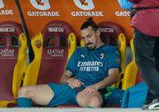 Ибрагимович пропустит матч с Манчестер Юнайтед в Лиге Европы