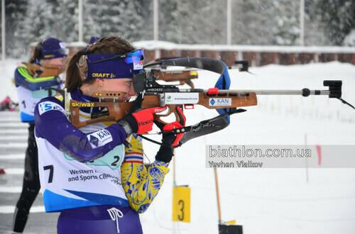 ЮЧМ-2021 по биатлону. Украинские юниорки не попали в топ-25 в спринте