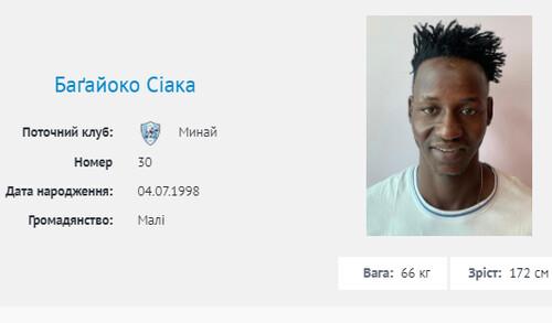 Підписали захисника збірної Малі. Минай дозаявив ще двох новачків