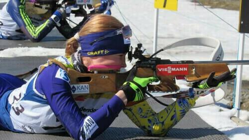 ЮЧМ-2021 по биатлону. Меркушина финишировала 15-й в гонке преследования