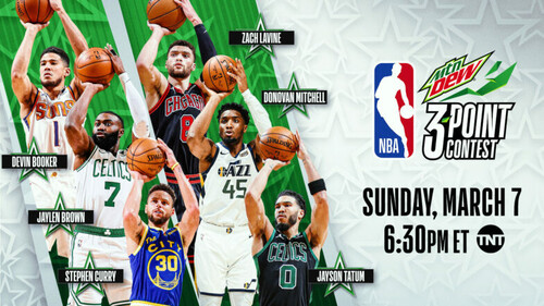 Карри, Тэйтум и Митчелл примут участие в конкурсе трехочковых НБА