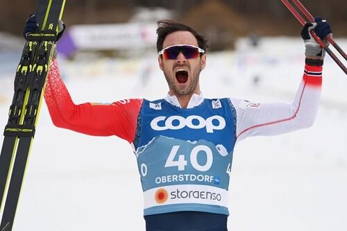 Лыжные гонки. Холунд – чемпион мира в разделке, Большунов без медали