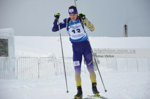 ЮЧМ-2021 по биатлону. Романчич отыграл 6 позиций в гонке преследования