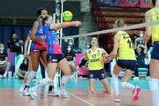 Два итальянских клуба вышли в полуфинал женской Лиги чемпионов