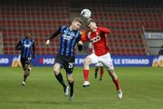 Брюгге в меньшинстве проиграл Стандарду и завершил борьбу в Кубке Бельгии