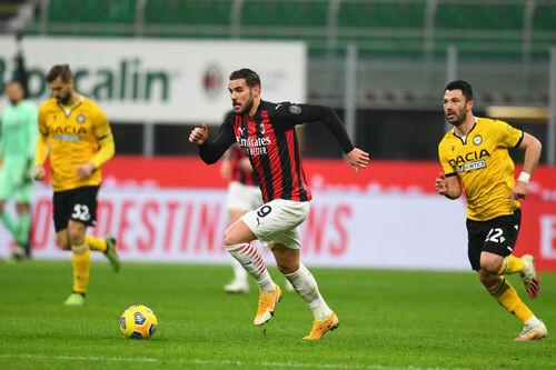 Милан — Удинезе — 1:1. Видео голов и обзор матча