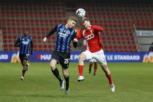 Брюгге в меншості програв Стандарду і завершив боротьбу в Кубку Бельгії