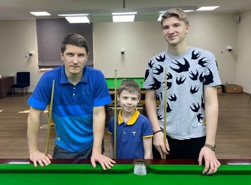 ВИДЕО. Юный талант. 10-летний украинский снукерист сделал сотенный брейк