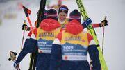 Лыжные гонки. Норвегия выиграла эпичную эстафету на чемпионате мира