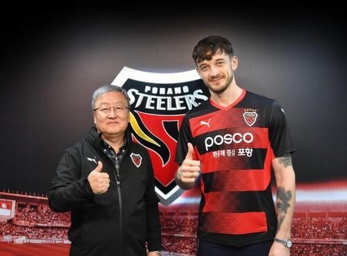 ОФИЦИАЛЬНО: Борис Тащи стал игроком корейского клуба Пхохан Стилерс