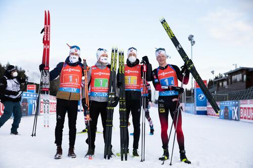 Норвежці виграли Малий кришталевий глобус в естафетному заліку