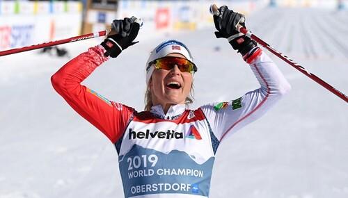 Лыжные гонки. Йохауг деклассировала соперниц в марафоне