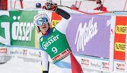 Горные лыжи. Одерматт выиграл супергигант в Заальбахе
