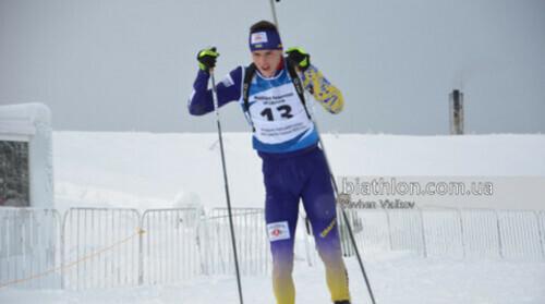ЮЧМ по биатлону. Украина в заключительной гонке финишировала в топ-15