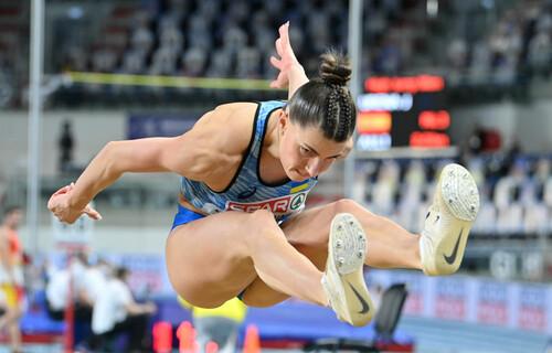 В останній спробі! Бех-Романчук виграла ЧЄ-2021 у стрибках в довжину
