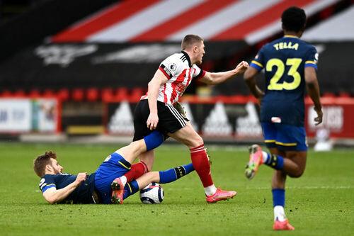 Шеффилд Юнайтед – Саутгемптон – 0:2. Видео голов и обзор матча