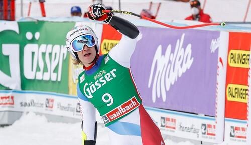 Гірські лижі. Одерматт виграв супергігант в Заальбаху