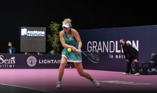 Лион. 18-летняя Клара Таусон выиграла дебютный турнир WTA