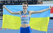 ВИДЕО. С флагом Украины. Как Магучих выиграла чемпионат Европы, взяв 2.00 м