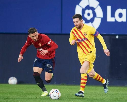 Осасуна — Барселона — 0:2. Видео голов и обзор матча