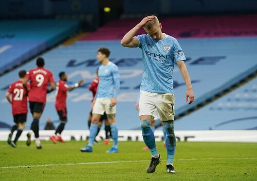 Манчестер – «красный». Юнайтед остановил триумфальную поступь Сити
