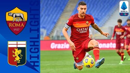 Рома — Дженоа — 1:0. Видео гола и обзор матча