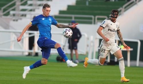 Динамо - Легия - 0:2. Видео голов и обзор первого матча киевлян на сборе