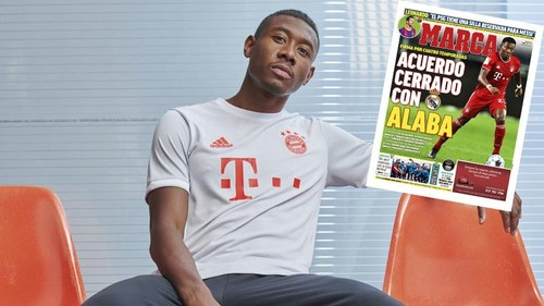 Алаба согласовал контракт с Реалом. Он перейдет летом