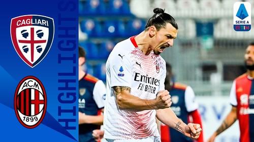 Кальяри — Милан — 0:2. Видео голов и обзор матча