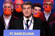 Лапорта намерен подписать в Барселону Агуэро и Алабу