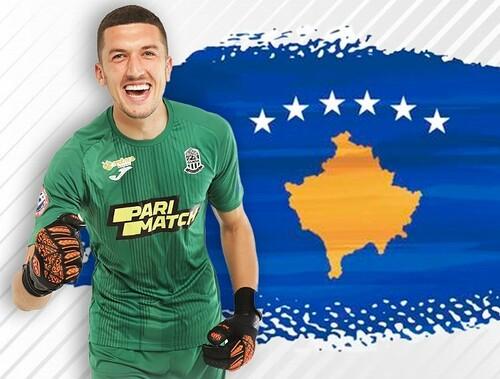 Будет играть за Косово. Вратарь Олимпика получил дебютный вызов в сборную