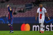 ПСЖ – Барселона. Мбаппе против Месси. Стартовые составы команд