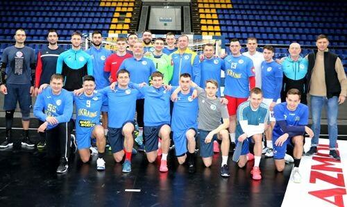 Гандболисты сборной Украины добыли первую победу в отборе к Евро-2022