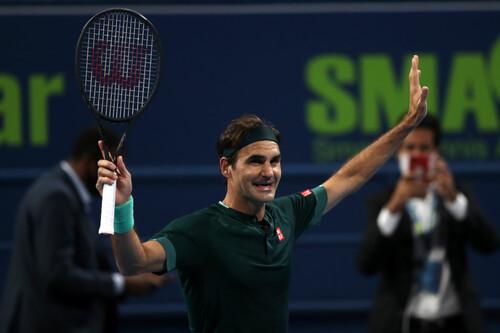 Возвращение удалось. Федерер в первом матче обыграл теннисиста из топ-30