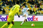 Шапаренко провел юбилейный матч за Динамо
