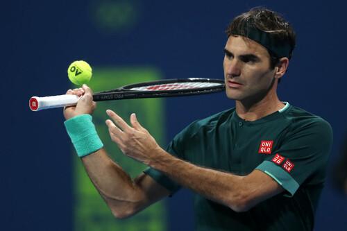 ФОТО. Как Федерер провел свой первый матч за 405 дней