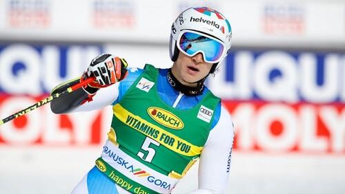 Горные лыжи. Одерматт выиграл гигант в Краньской горе
