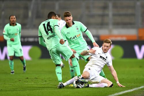 Аугсбург - Боруссия М - 3:1. Видео голов и обзор матча
