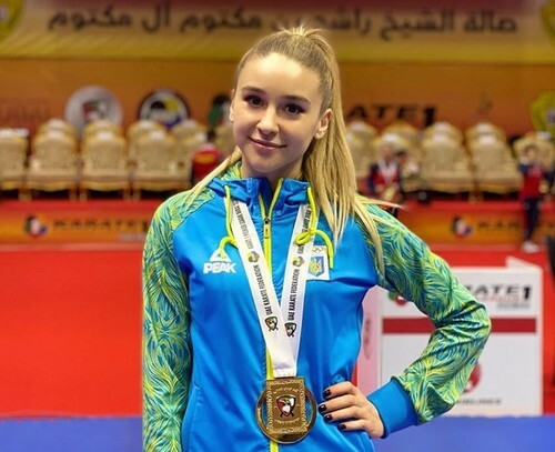 Терлюга завоевала бронзу на турнире по карате в Турции