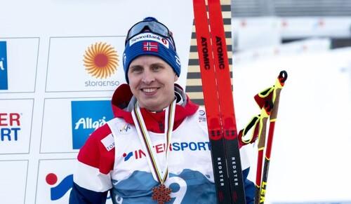 Лыжные гонки. Крюгер выиграл финал сезона в Энгадине