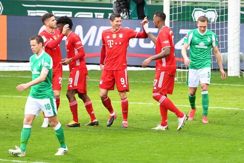 Вердер – Бавария – 1:3. Видео голов и обзор матча