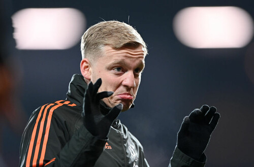 Ван де Бек має намір залишити Манчестер Юнайтед