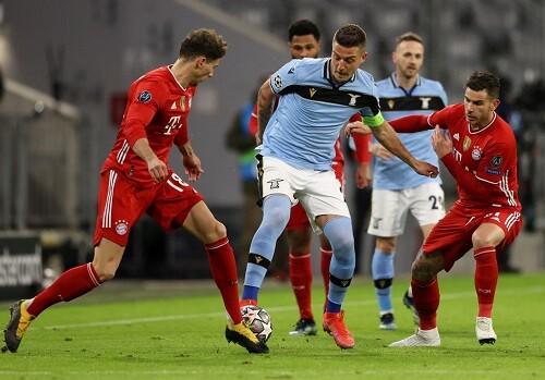 Бавария - Лацио - 2:1. Текстовая трансляция матча