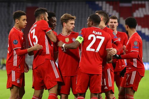ВИДЕО. Мюнхен в 1/4 финала. Бавария и Лацио обменялись голами во 2-м тайме