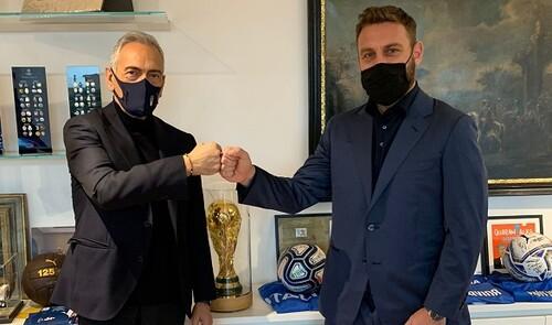 Легенда Ромы вошел в тренерский штаб сборной Италии