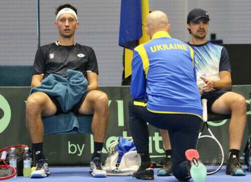 Стаховский и Молчанов вышли в полуфинал челленджера в Биелле