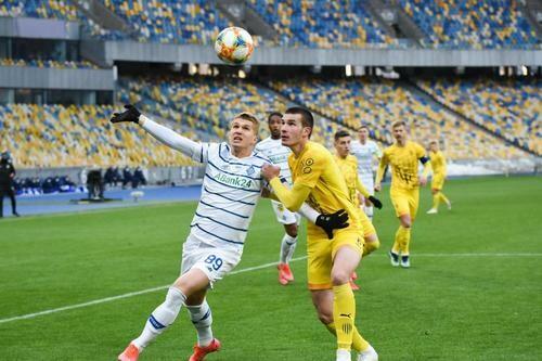 Динамо – Рух – 3:0. Текстовая трансляция матча