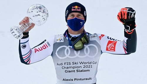 Гірські лижі. Пінтуро став володарем Кубка світу