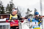 Эстерсунд. Йоханнес Бё отстает от Легрейда на 1 балл перед последней гонкой
